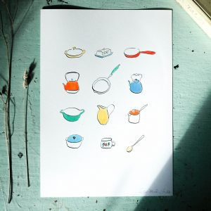 Pots and Pans colour